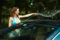Wet and Soapy car wash – Piper Blush